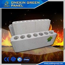 Quality Fireproof Grade A Lightweight green Mgo wall panel 90mm - 140mm class a1 incombustible material cement panel
