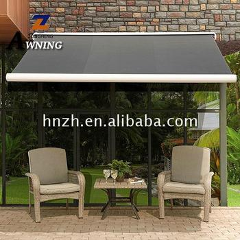 High quality 10'*8' awning deck sunshade shelter hot products 2018
