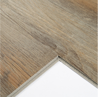 recycled plastic plank wooden tiles pvc interlocking vinyl flooring