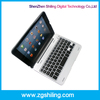 Bluetooth Plastic Colorful Tablet rubber keyboard for ipad mini