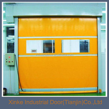 polycarbonate PVC Fabric Roller Shutter Door High speed door HSD-097