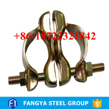 building materials ! pipe clamp joints scaffolding drop forged swivel coupler