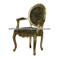 Versailles Oval carved Arms Dining Chair