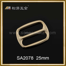 Song A Male side adjustable strap buckle thong buckle 25mm