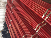 Red Primed Steel Pipes,BS1387 Pipeline