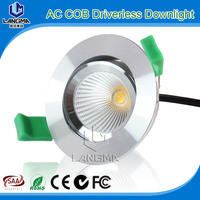 commercial led shop light 4 years warranty CE RoHs SAA approved COB samsung 5630 led downlight