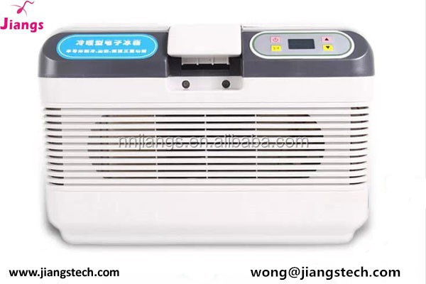 Jiangs 17 degrees portable electronic vaccine refrigerated cooler