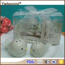 Ywbeyond Feathering the Nest Ceramic Birds Salt Pepper Shakers Baby birthday souvenirs
