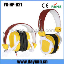 2012 new stereo headset of 3.5mm headband headset and fashionable modern sport headphone