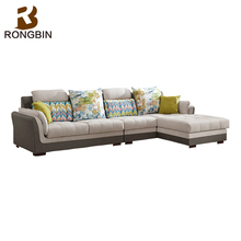 Living room furniture latest L shaped loveseat aviator sofa luxury italian moroccan 5 seater sofa set designs with price
