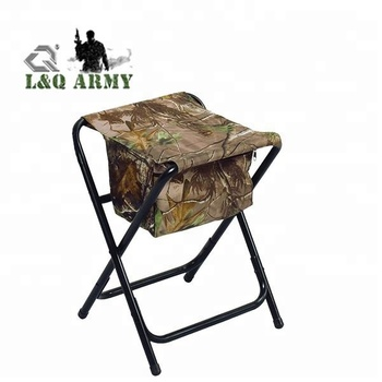 Outdoor Fishing And Camping Folding Camouflage Hunting Chair