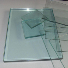 "glass plate, 2"" thick plate glass"