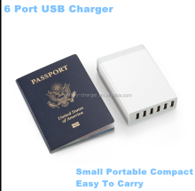 Staple 6-Port USB 2.0 Travel Hub White