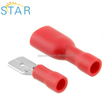 wholesale spade terminal red Insulated Electrical Crimp Terminal