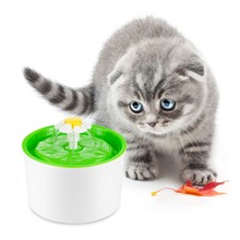 Automatic Pet Feeder Flower Shape cat water fountain For Cats Pet water fountain