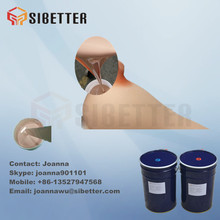 Body Double Liquid Silicone Rubber for Casting, Skin Color