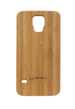 China manufacturer Wooden case for Samsung galaxy S5, for samsung galaxy s5 wooden PC case, Real Wood Bamboo Case