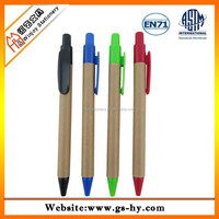 China factory produced recycled paper ballpoint pen