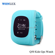 Wonlex gps watch Q50 gps tracker for personal items hidden gps tracker for kids
