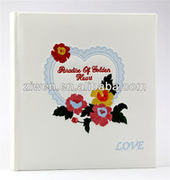 5X7/5R 200 photos High quality PU/leather photo album slip in memo albums