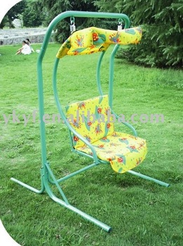 Garden hot iron 1person swing for enjoy