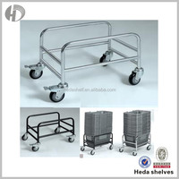 Accepted Customize Metal Supermarket Foldable Shopping Cart