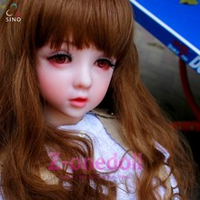 Lovable dolls little girl Z-onedoll heatd love doll 111cm doll silicone real sex