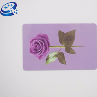 2018 Professional printing/blank pvc contact IC smart card with chip card in stock