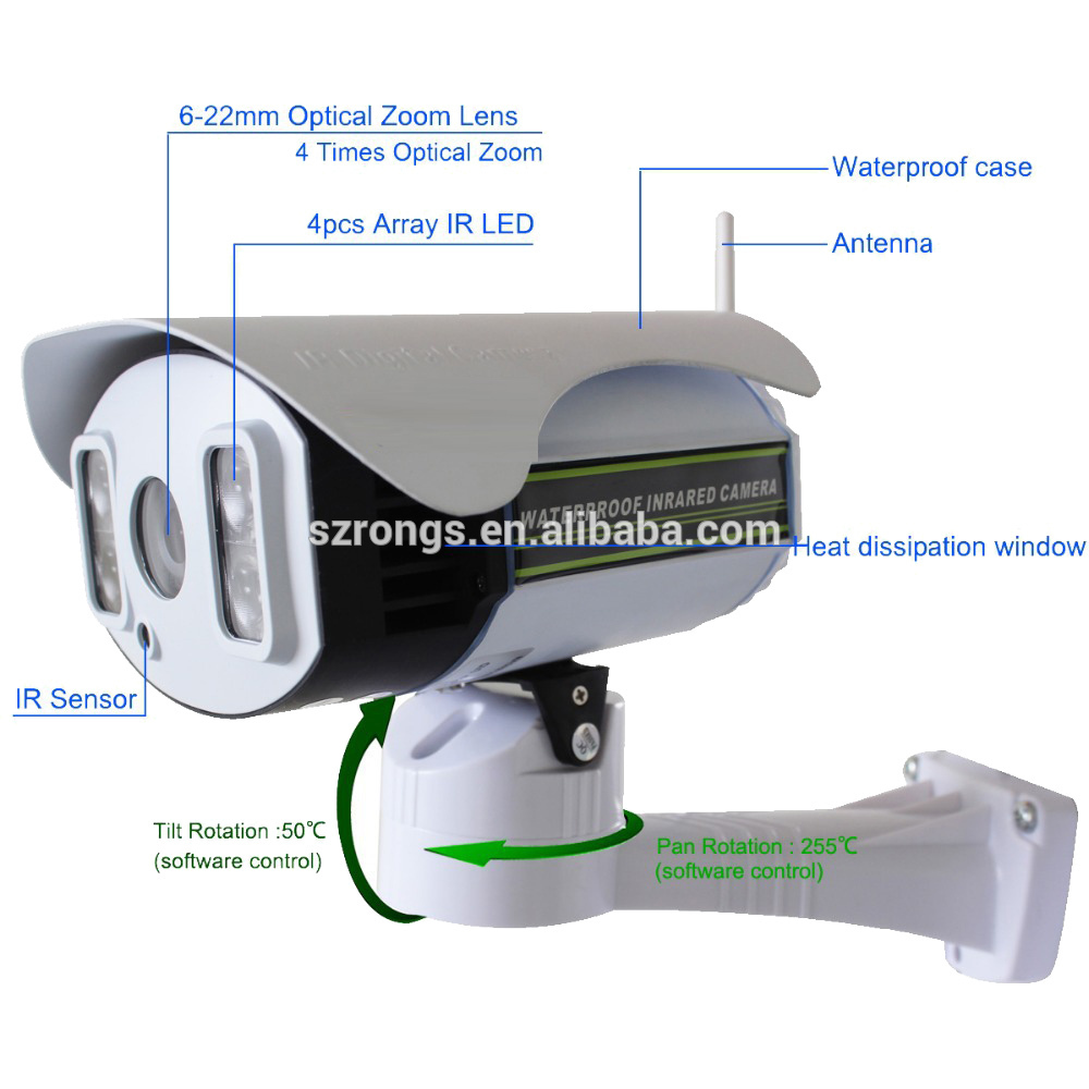 Home security 960p 720p wireless P2P digital network camera