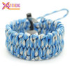 outdoor survival 550 cord bracelet paracord flint camping equipment