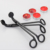 High quality Black round head candle scissors wick trimmer