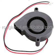 Black Brushless DC Cooling Blower Fan 5015S 5V 0.1-0.3A 50x15mm new and hotsale