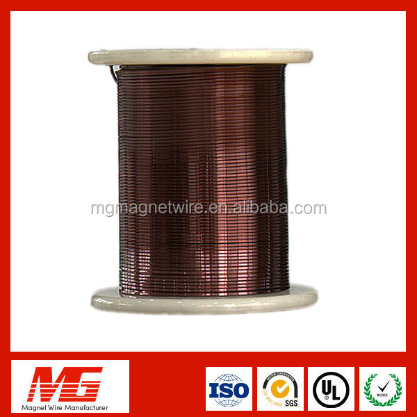 Super swg insulated flat enameled copper wire