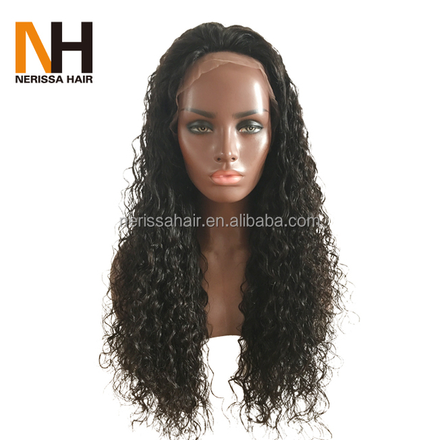 Hot Selling Glueless Wet And Wavy Hair Unprocessed Virgin Brazilian Lace Front Wigs 100 Human Hair Full Lace Wig With Baby Hair