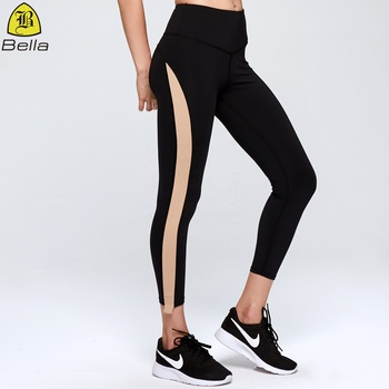 High waisted women tight compression pantalones de mujer yoga pants