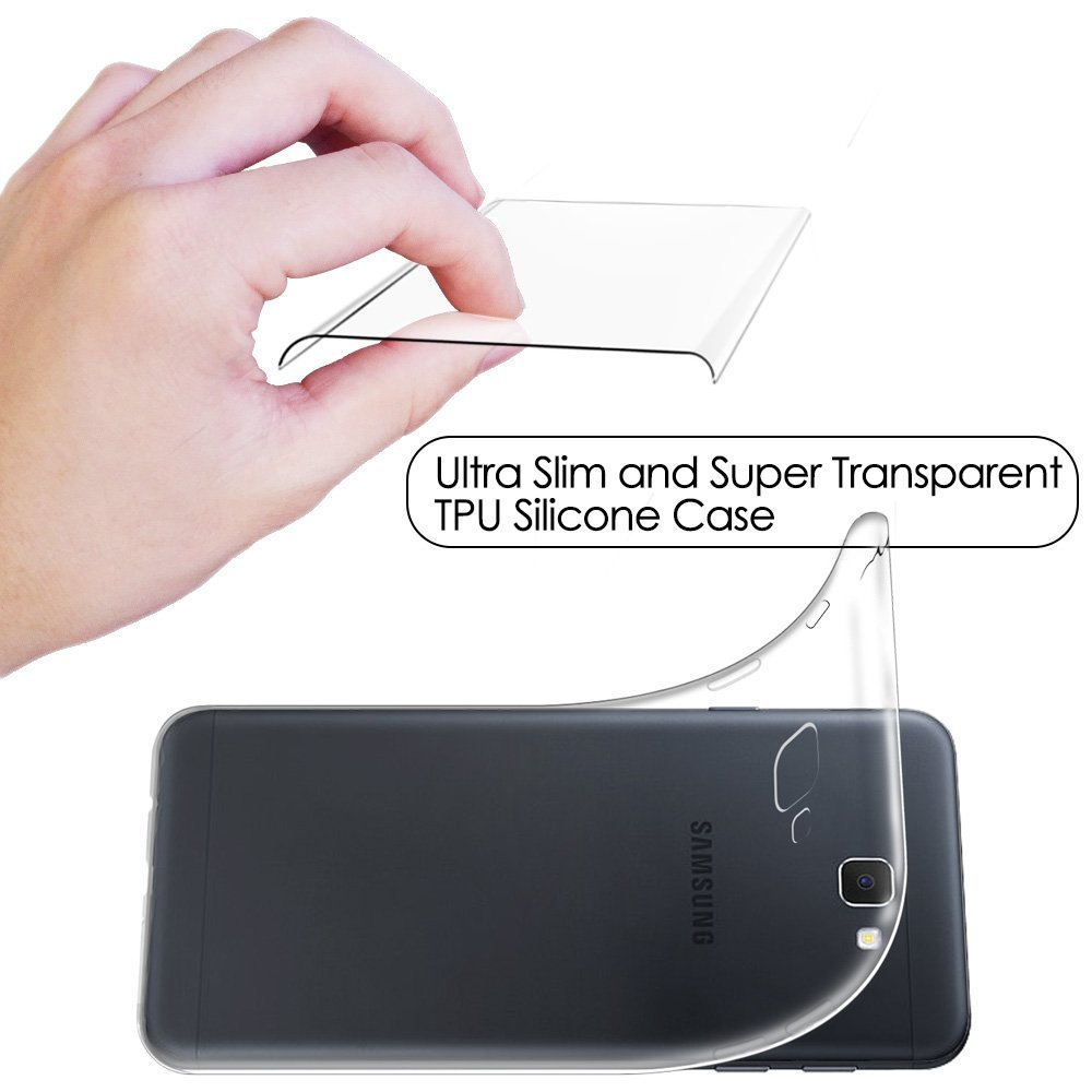 For Samsung Galaxy J7 2017 Case,Crystal Transparent Scratch Proof Clear Soft TPU Case Cover For Samsung Galaxy J7 2017