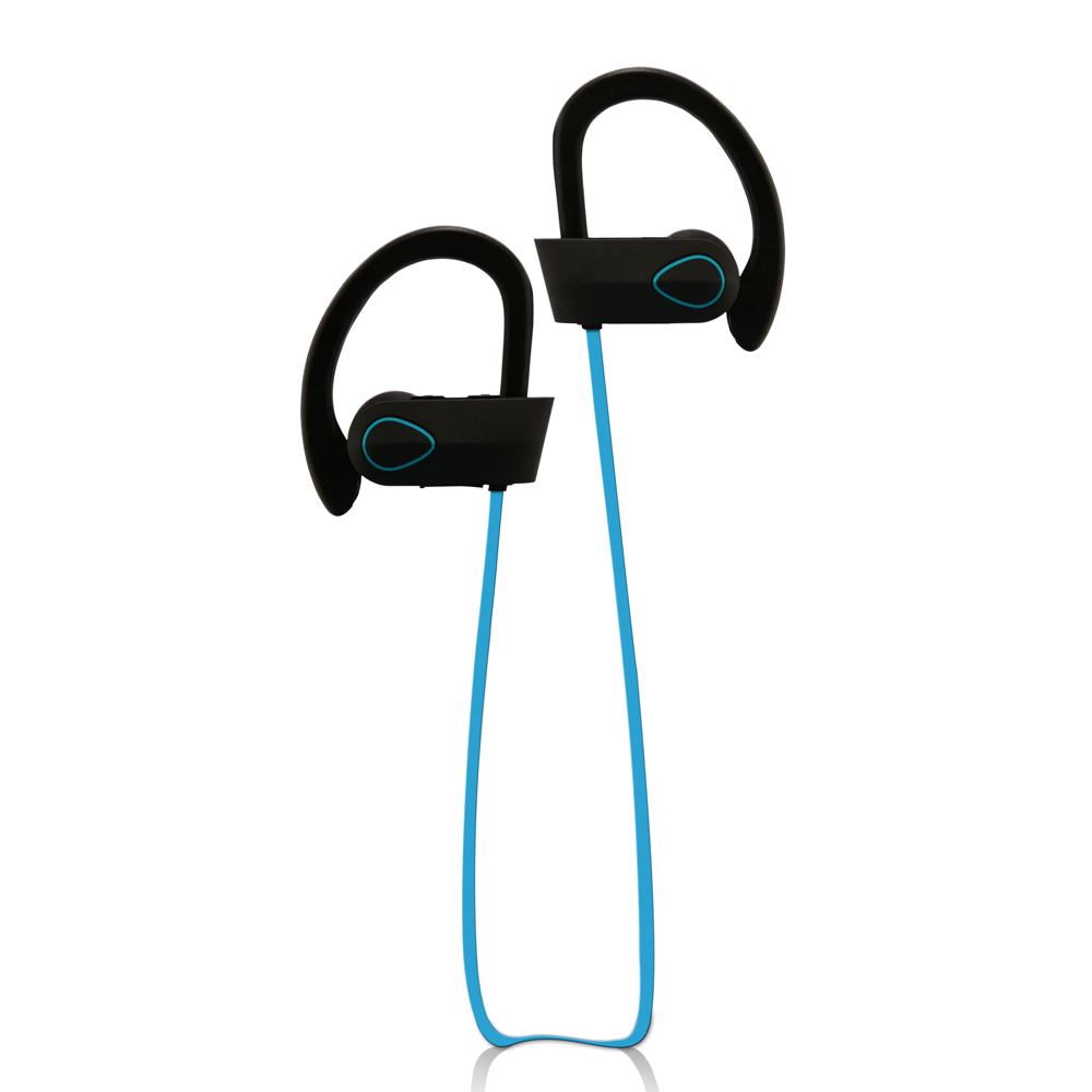 In Ear Style IPX7 waterproof Stereo Bluetooth Headphones Wireless Sport Earphone with Mic for Samsung Mobile Phone