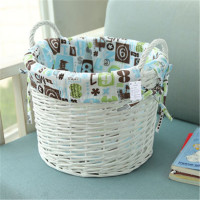 Wicker,Willow/Wicker Material and Stocked,Eco-Friendly Feature Pretty stable plastic material storage box