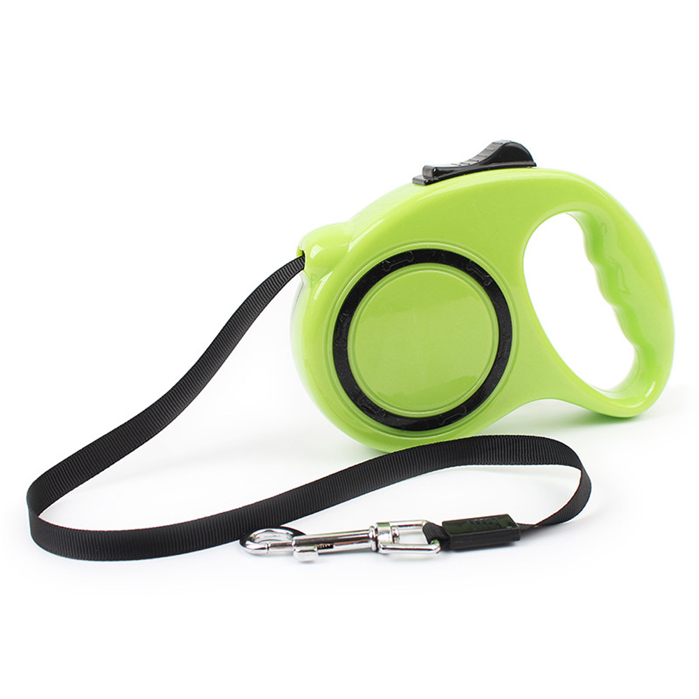 Automatic dog leash pet retractable leash with flashlight