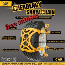 winter snow chain easy installatin kns 9mm snow chain