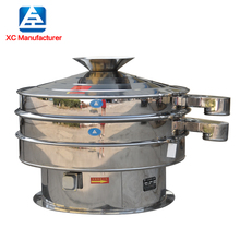 Food grade Seasoning powder Rotary vibrating screen with CE Approved