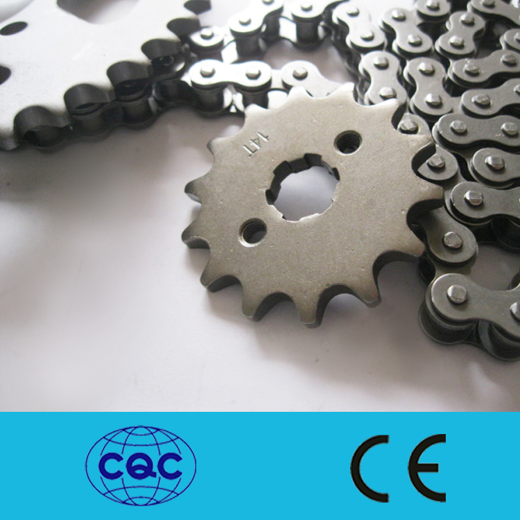 YAOXIN good quality manufacturer professional CG125 Chain and sprocket