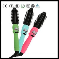 CE approved temperature adjustable soft bristle hair brush manufacturer