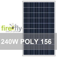 240W A+/A Grade Poly156 Solar PV Panel (CE, IEC, TUV, CEC, ISO 9001, ISO 4001, RoHS)