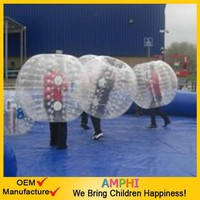 Cheap human bumper ball inflatable ball/advertising bubble balloon