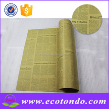 newspaper printing flower gift wrapping paper gift wrap company