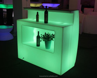 PE night club lighted led bar furniture bar counters design