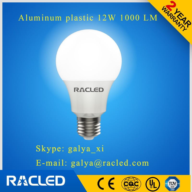 hot seller top sales product in china indoor lights led bulb 12w 1000lm