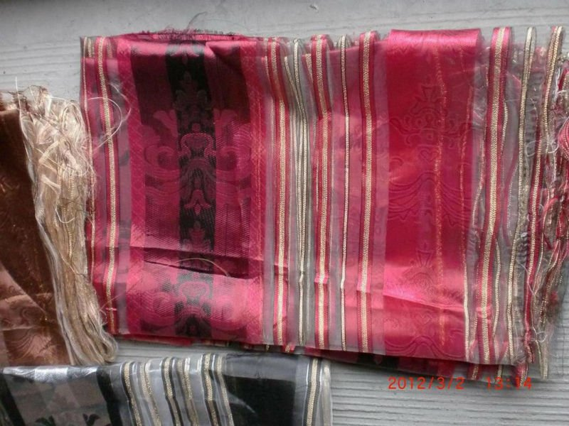 cheap jacquard organza