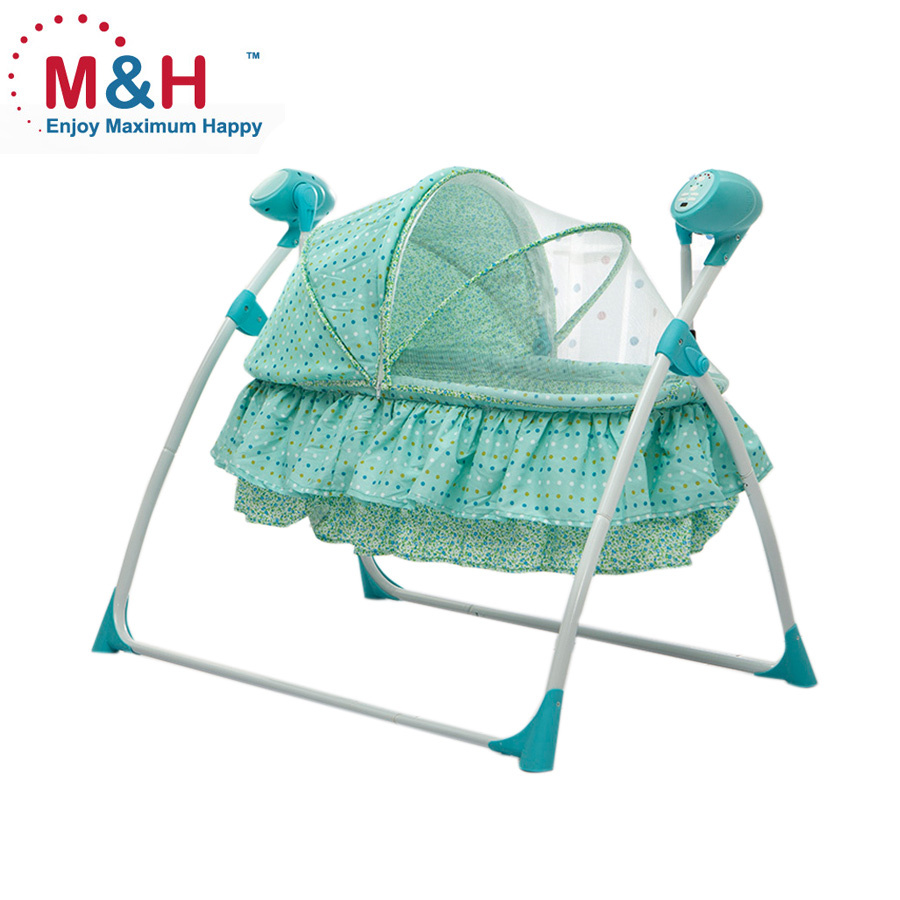 Baby Electric Cradle automatic swing baby crib baby bed swing bed
